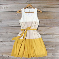 Peach Grove Dress in Honey, Sweet Women&#x27;s Bridesmaid &amp; Party Dresses