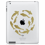 Koi Fish Pond iPad Decal