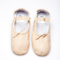 Nude Ballet Shoe | Beautiful Colorful Ballet Shoes for Every Woman's Wardrobe by Linge Shoes