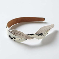 Anthropologie - Ruched &amp; Knotted Headband
