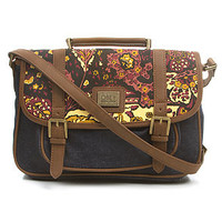 Obey Bag The Dahlia Messenger in Vintage Paisley.