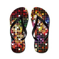 Crazy Disco Flip Flops&gt; Flip Flops&gt; Dreams.Inc