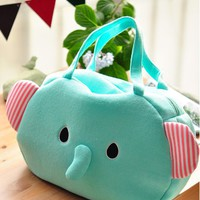 Mint Sentimental Circus Elephant Handbag