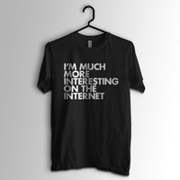 Much More Interesting T-Shirt by WORDS BRAND - $24
