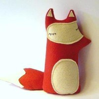 Liam The Sleepy Woodland Fox Made to order by sleepyking on Etsy