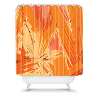 DENY Designs Home Accessories | Rosie Brown Palm Explosion Shower Curtain