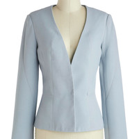 Its Now or Clever Blazer | Mod Retro Vintage Jackets | ModCloth.com