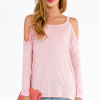 Caseylin Cold Shoulder Top $23
