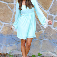 End Of The Line Dress: Spearmint | Hope&#x27;s