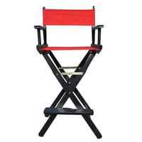 Bar-Height Director&#x27;s Chair - Black Frame