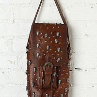 Aquarius LTD  Skull Bucket Bag at Free People Clothing Boutique