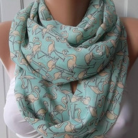 Circle Scarf  Infinity Scarf  Tube scarf... It made with good quality CHIFFON fabric