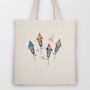 Happy 4th! Tote Bag by Carina Povarchik