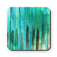 Beach Fence Square Coaster&gt; Coasters &amp; Tiles&gt; Janet Antepara Designs