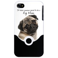 Pug 441 Phone Case iPhone Case on CafePress.com