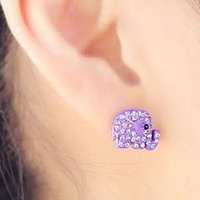 Charming Crystal Elephant Earrings | LilyFair Jewelry