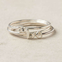 Anthropologie - Wee Initial Ring