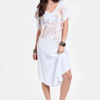 Empower Embroidered Kaftan By Jen&#x27;s Pirate Booty - $145.00 : ThreadSence, Women&#x27;s Indie &amp; Bohemian Clothing, Dresses, &amp; Accessories