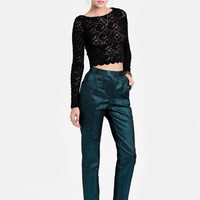 Electric Feel Jacquard Pants By Keepsake - $132.00 : ThreadSence, Women&#x27;s Indie &amp; Bohemian Clothing, Dresses, &amp; Accessories