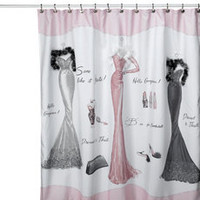 Dressed to Thrill Shower Curtain - Bed Bath &amp; Beyond