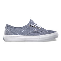 Chambray Dots Authentic Slim