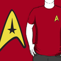 Star Trek Symbol Shirt by BUB THE ZOMBIE