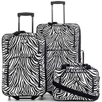Zebra Luggage, 3 Piece Set - Luggage Sets - luggage - Macy's