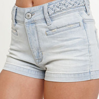 Kendall & Kylie Braided High Rise Shorts at PacSun.com
