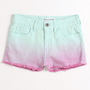 Bullhead High Rise Fray Hem Shorts at PacSun.com