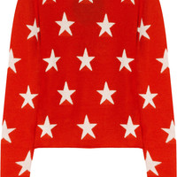 Banjo &amp; Matilda|Star-intarsia cashmere sweater|NET-A-PORTER.COM