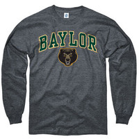 Baylor Bears Dark Heather Perennial II Long Sleeve T-Shirt