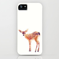 Fawn iPhone & iPod Case by Amy Hamilton
