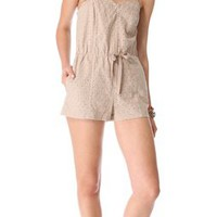 BB Dakota O&#x27;Hara Embroidered Romper | SHOPBOP