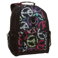 Gear-Up Black Peace Backpack