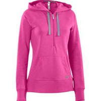 Under Armour Women&#x27;s Charged Cotton Storm Slub Hoodie
