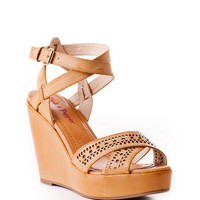 Pink & Pepper Fiora Wedge