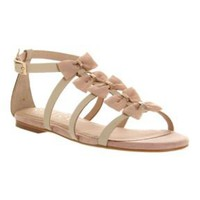 Illusive bow sandals