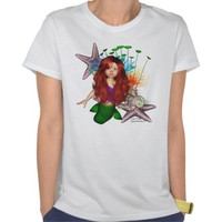 Little Mermaid Aphridite Shirt from Zazzle.com
