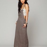 Free People Free People Feder Overall Dress