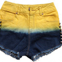 HIGH WAIST BANANA SHORTS