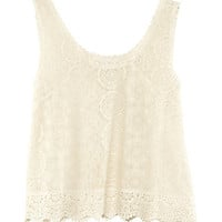 Lace Top - from H&amp;M