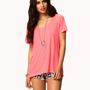 High-Low Tee | FOREVER 21 - 2036916752