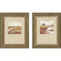 Paragon Farmlands by Paus Landscapes Art (Set of 2) - 17&quot; x 21&quot; - 7113 - 7113 - All Wall Art - Wall Art &amp; Coverings - Decor