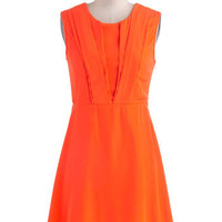 Spin Me Bright Round Dress | Mod Retro Vintage Dresses | ModCloth.com