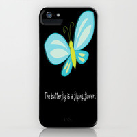 The butterfly is a flying flower... iPhone &amp; iPod Case by  Alexia Miles photography
