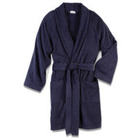 The Genuine Turkish Cotton Morning Robe - Hammacher Schlemmer