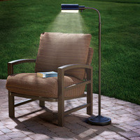 The Cordless Outdoor Reading Lamp - Hammacher Schlemmer