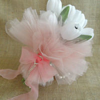wedding bouquet, Bridal bouquet, White tulips bouquets,