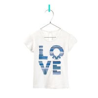 &quot;LOVE&quot; T-SHIRT - T-shirts - Baby girl - Kids - ZARA United States