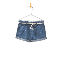 SHORTS WITH DRAWSTRING BELT - Skirts and shorts - Baby girl - Kids - ZARA United States
